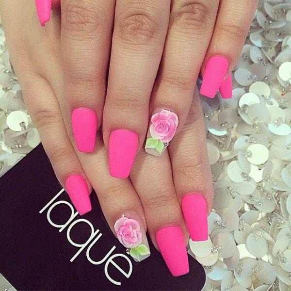 Qué color de rosa caliente? - 7 colores de esmalte de uñas mate a…