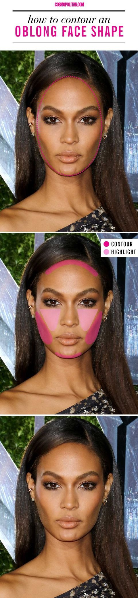 How To Contour If You Have An Oblong Face Shape
