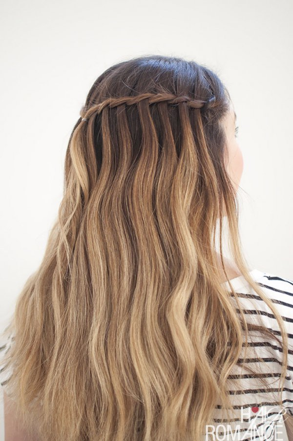 Waterfall Braids The Best Hairstyles To Wear When