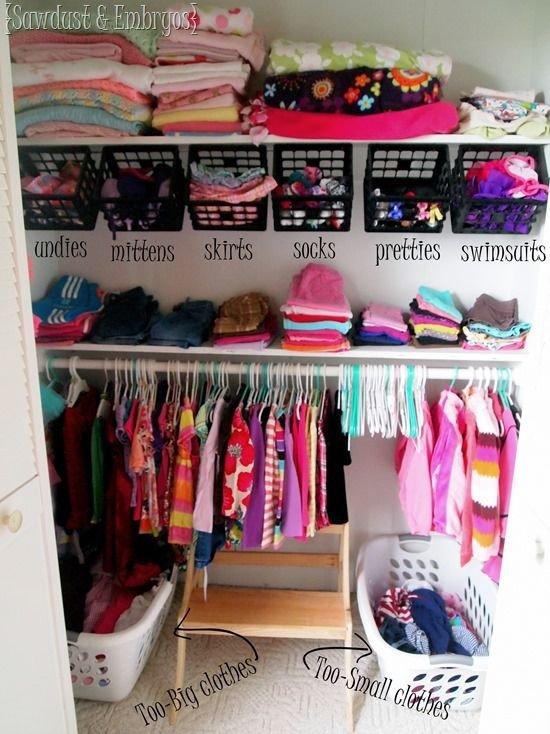 Nursery Closet Makeover