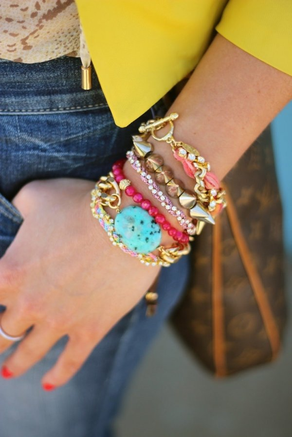 Dazzling Arm Candy