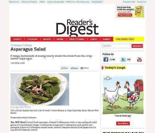 Asparagus Salad at http://www.rd.com/food/asparagus-salad-recipe/
