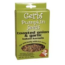 Gerbs Gluten Free Onion & Garlic Pumpkin Seeds