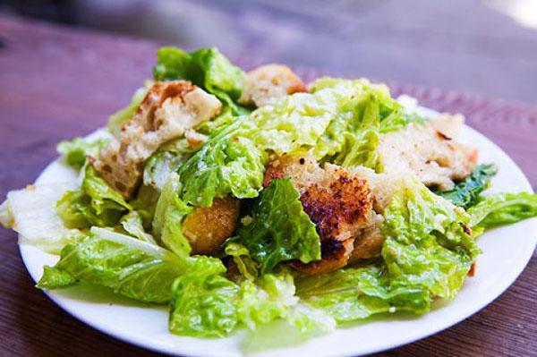 Slim Caesar Salad
