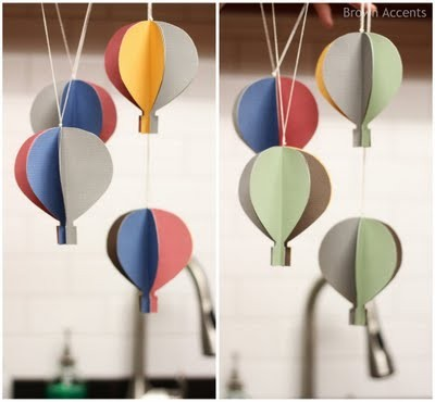 Folded Paper 9 Incredibly Adorable Hot Air Balloon Craft