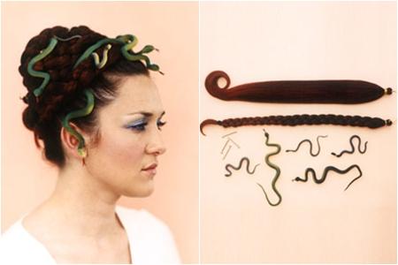 Medusa 12 diy halloween headpieces to make diy medusa pmusecretfo Gallery