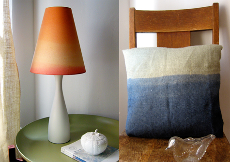 Lamp and Pillow