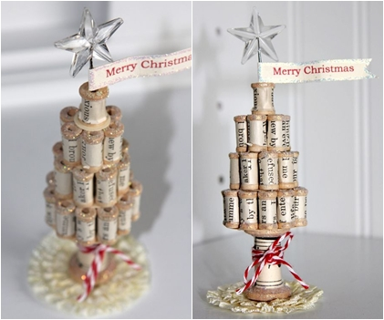 17 Marvelous DIY Mini Christmas Trees … DIY