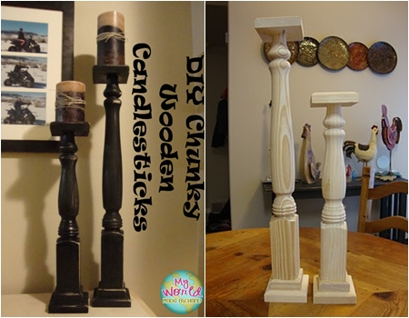 Table Legs 10 Creative DIY Candlestick Holders