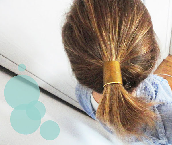 Hair Cuff Gorgeous DIY Bridal Hair Pieces DIY - Ponytail cuff diy