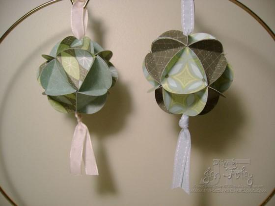 Geodesic 10 adorable diy paper ornaments diy for Diy paper ornaments