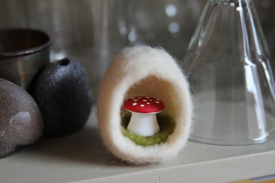 Toadstool in an Egg
