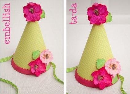 Floral 10 Cute And Creative Diy Party Hats Diy