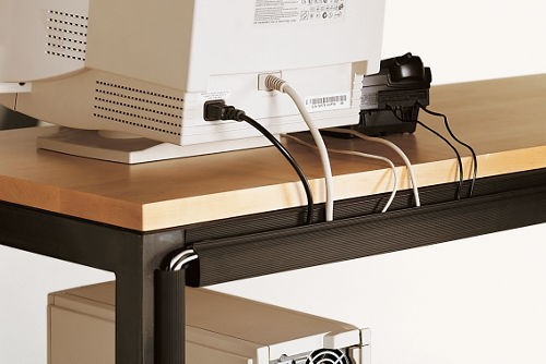 Cord management straps 7 smart tips on how to hide - Desk cord organizer ...