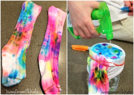 Funky Tie Dye 9 Sweet And Adorable Diy Socks Diy