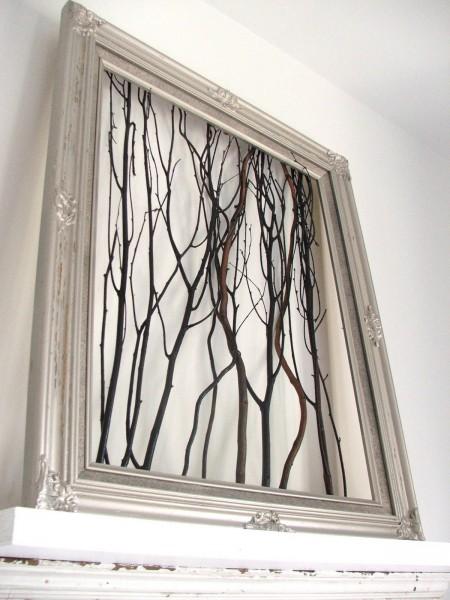 Wall Art Tree Diy : Tree branches diy wall art tutorials