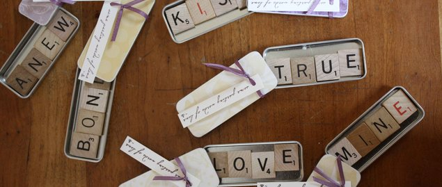 here is a scrabble tile diy that can help you in organizing a wedding