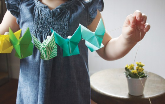 Origami Garland 10 Adorable Bunny Crafts Diy