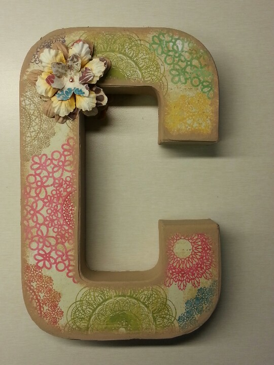 Decorating Ideas Paper Mache Letters Images