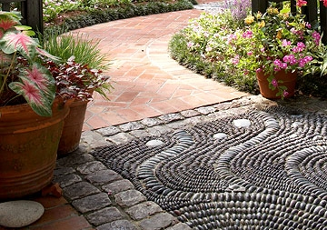 Pebble Mosaic 8 Wonderful Diy Walkways And Garden Paths