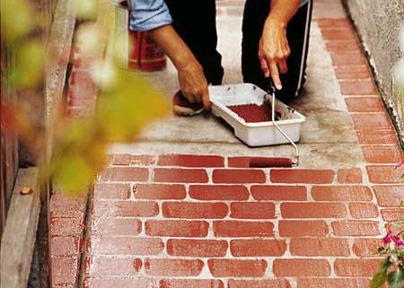 Faux Brick 8 Wonderful Diy Walkways And Garden Paths