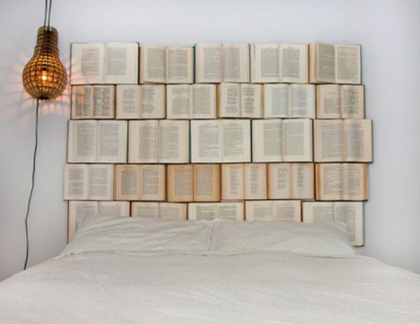 Book Headboard 7 Creative Things To Do With Old Books