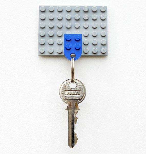 Key Holder 9 Cute And Fun Diy Lego Craft Projects