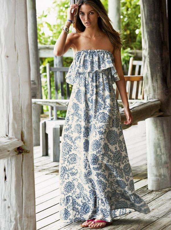 красивые гипюровые платья в пол