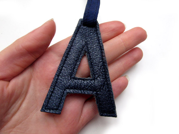 Leather Letter