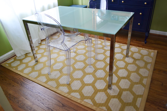 Rug   7 Trendy And Chic DIY Hexagon Craft Projects For The Homeu2026