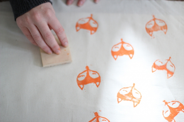 Foxy Fabric - 9 DIY Rubber Stamps to Get You Started on a New…