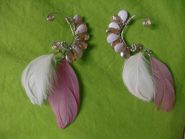 Feathers and Beads