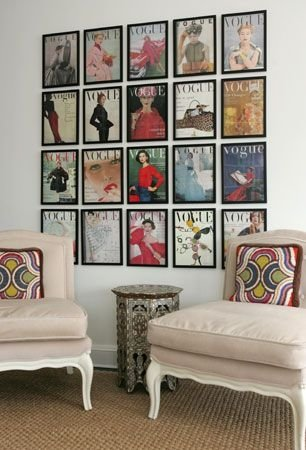 Vintage magazine covers 47 vintage things that will make you - Magazine wall decor ...