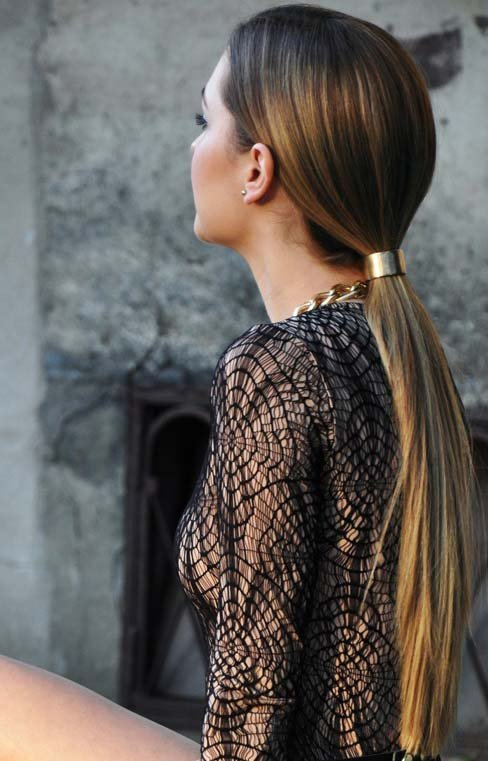 Sleek Ponytails The 9 Hottest Beauty Trends For Fall