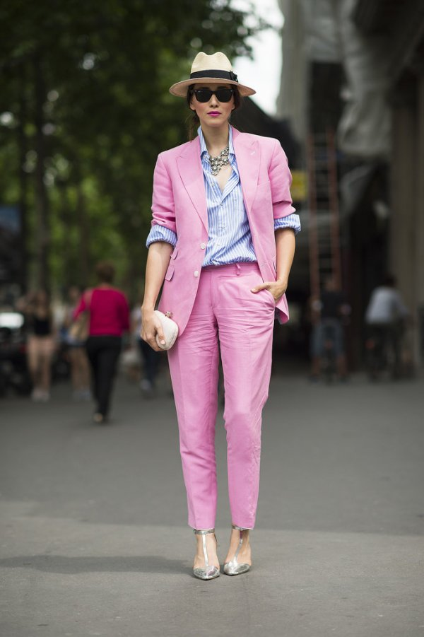 Top Your Summer Tops with a Cute Suit for the Office