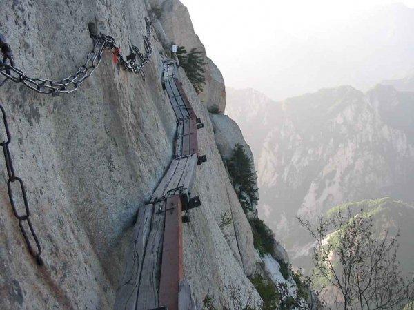 Mount Huashan Hiking Trail, China