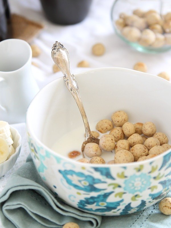 Homemade Vanilla Cereal Puffs