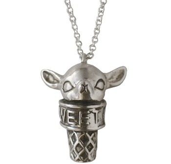 Anomaly Jewelry Sweet Tooth Necklace - Fawn