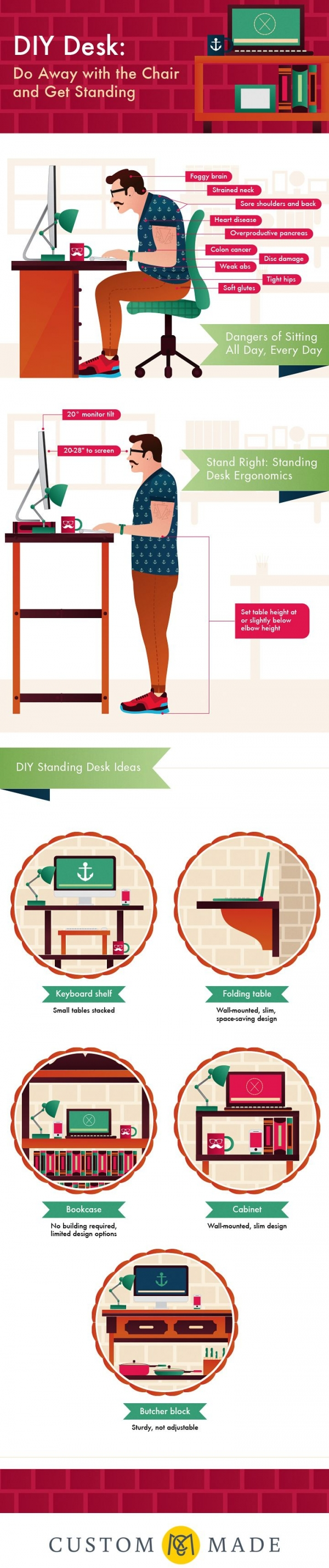 10 Reasons You Should Quit Sitting All Day
