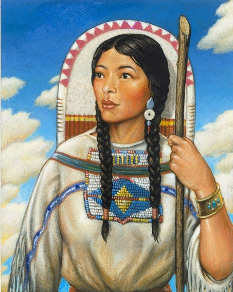 Sacagawea, 1788 – 1812 - 10 Women from History Who Would Have Been…