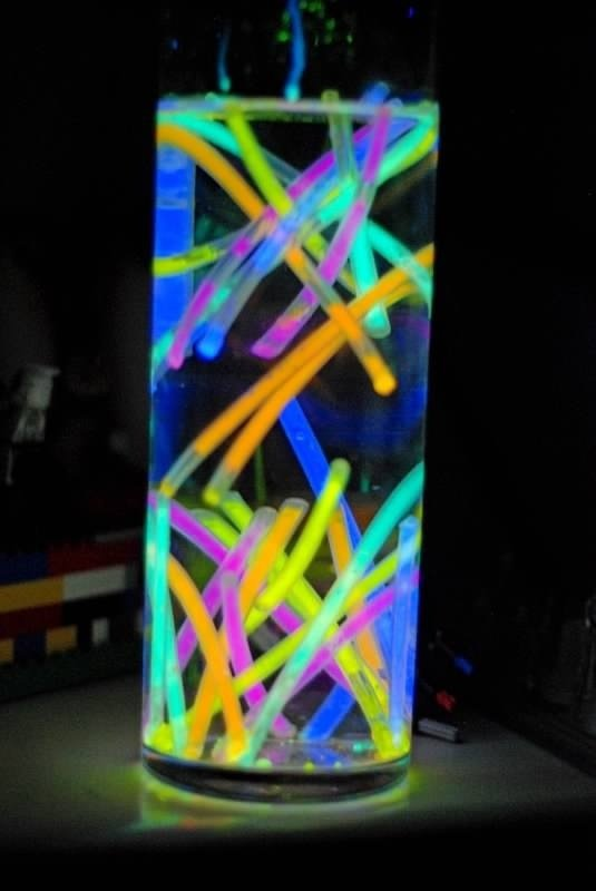 Glow Sticks 46 Eye Catching Party Decorations For Your Next Bash