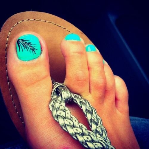 Turquoise With An Awesome Feather Accent