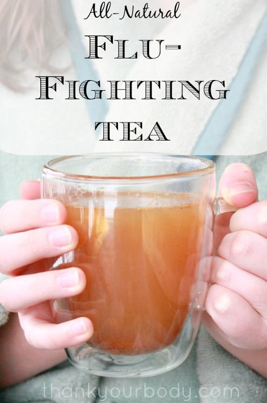 Natural Flu Fighting Tea