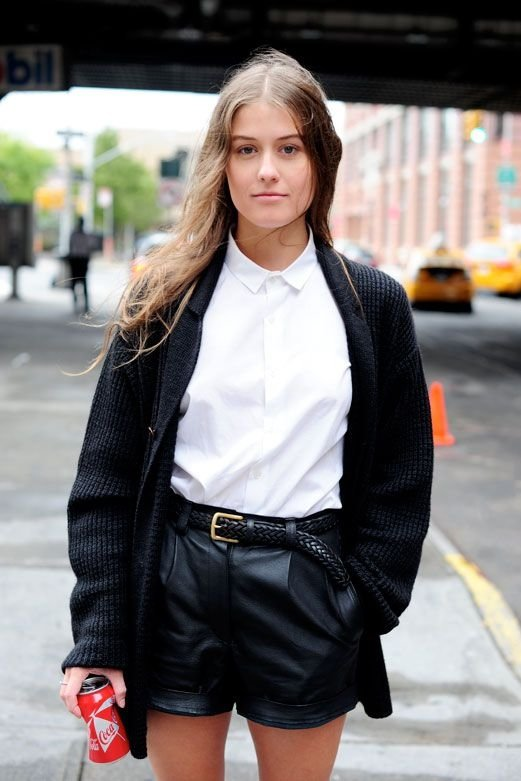 7 Street Style Ways to Wear a Collared Shirt ... → 🎒 Streetstyle