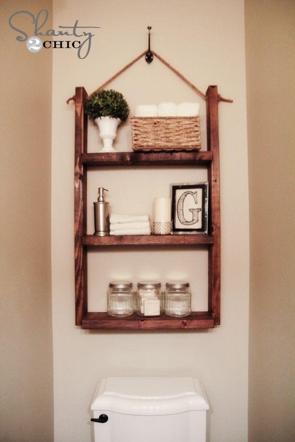 Hacer Estantes Para Baño: baño estante colgante – Shelfies: los mejor bricolaje estantes