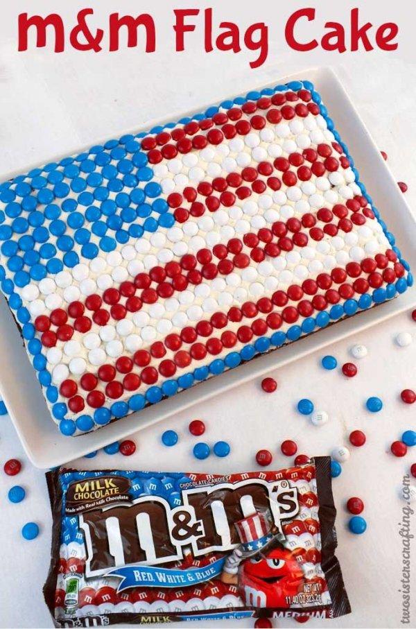 M g teau drapeau m 48 rouge blanc et bleu des desserts for M m cake decoration