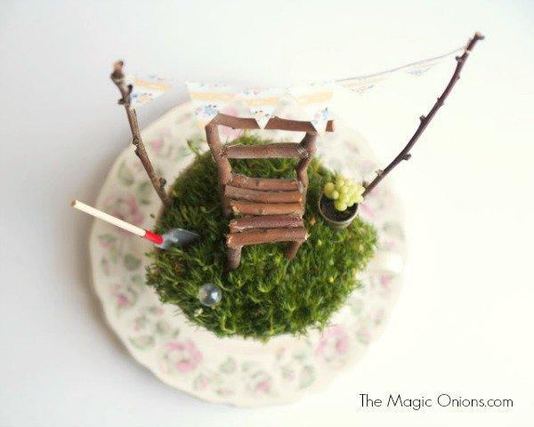 Make a Tea Cup Fairy Garden