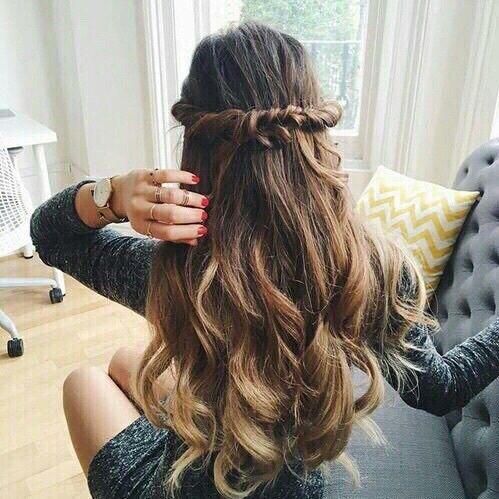 hair,hairstyle,long hair,braid,brown hair,