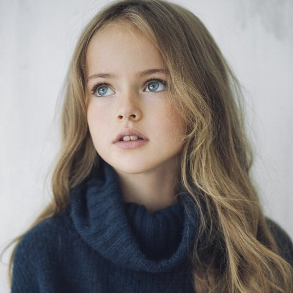 this 9 year old model is being called the most beautiful girl in the
