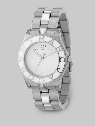 Marc by Marc Jacobs Blade Link Bracelet Watch/Stainless Steel